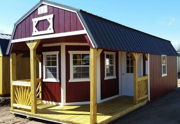 Pin by D Page on small homes Old hickory sheds, Lofted