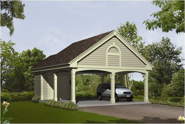 Open Carport Attached To House : Images about garage on pinterest carport plans