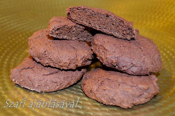 Éhezésmentes Karcsúság Szafival: Protein Csokis keksz