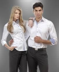 Resultado de imagen para diseños de blusas para uniformes de oficina