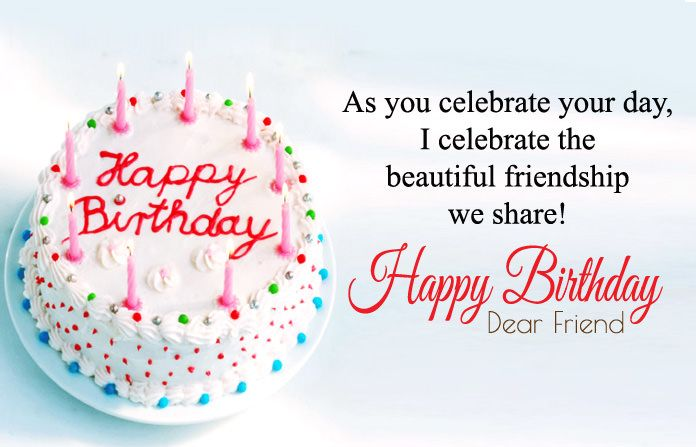 Happy Birthday Quotes For Friends | Birthday wishes status, Happy ...