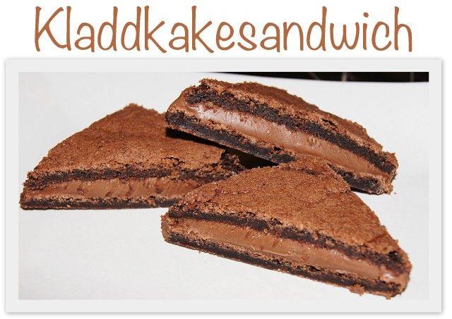 Kladdkakesandwich