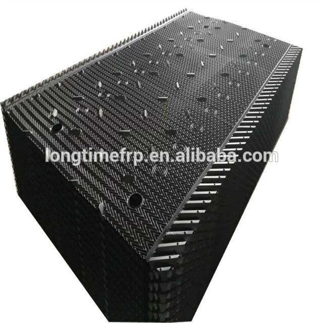 Pvc Black Cooling Tower Fill Cooling Tower Spare Parts Pvc Fill