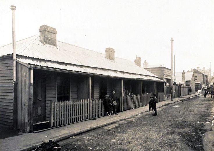 Kettle St. Redfern. 1900