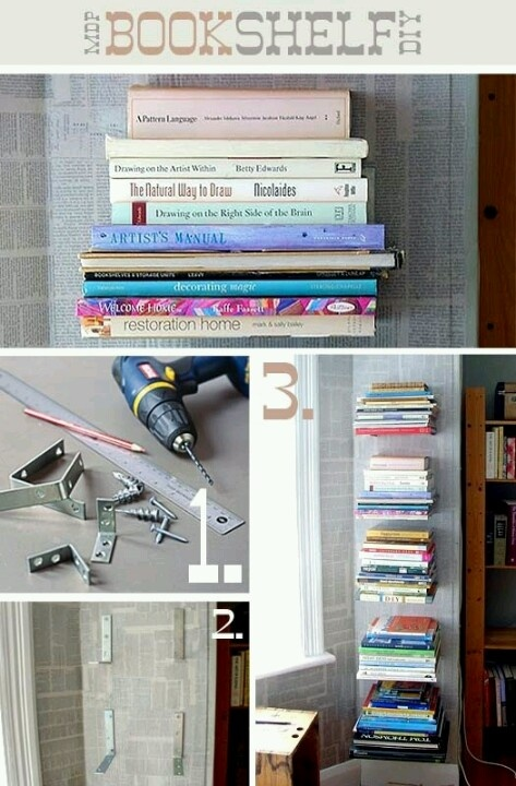 25 DIY Bookshelves