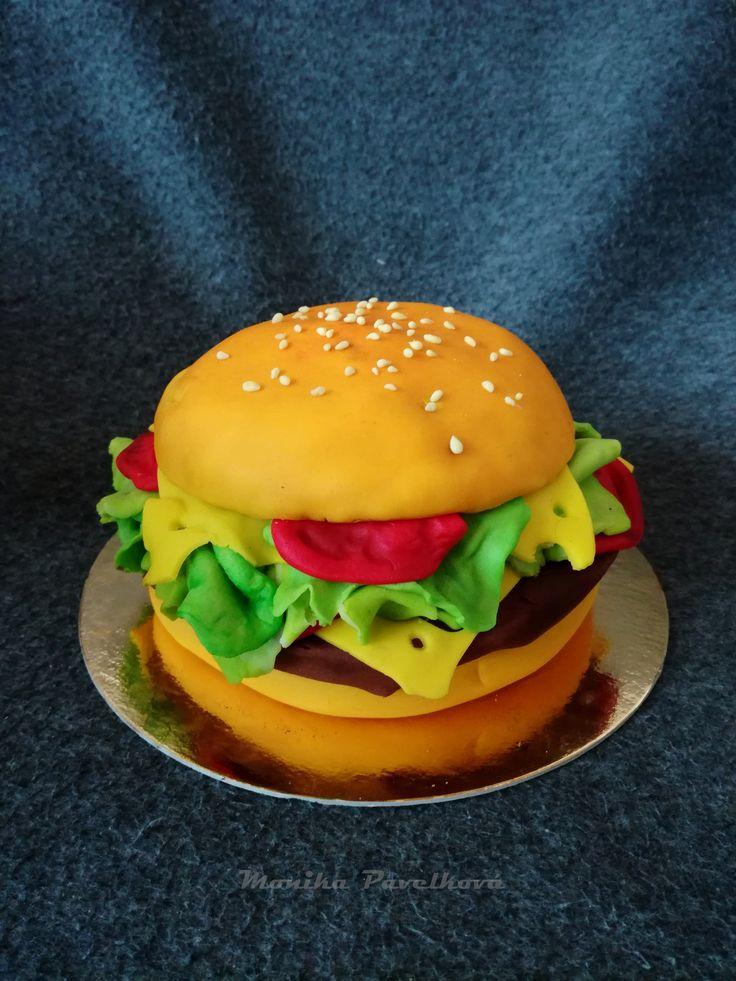 Hamburger CAKE. DORT hamburger.