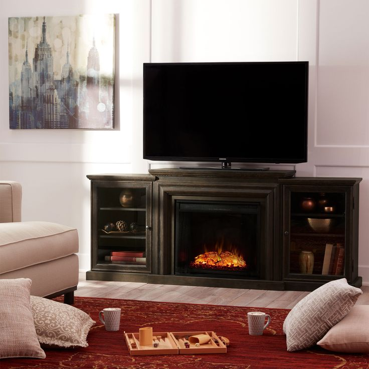 Fireplace Design overstock fireplace : Best 25+ Electric fireplace media center ideas on Pinterest ...
