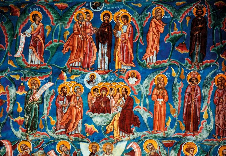 Na Roménia, numa região remota aos pés dos Cárpatos, as igrejas e mosteiros de Bucovina, com os seus frescos, são uma expressão viva de cenas bíblicas. São como as páginas de um livro que correm sobre paredes.