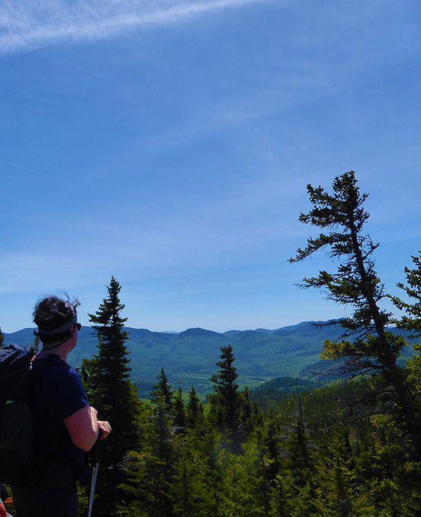 Mont Crawford et horizon Crédit photo : M. Desharnais