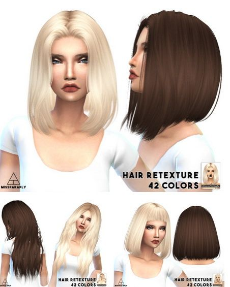 Miss Paraply: Alesso solid hairstyles retextured - Sims 4 Hairs - http://sims4hairs.com/miss-paraply-alesso-solid-hairstyles-retextured/
