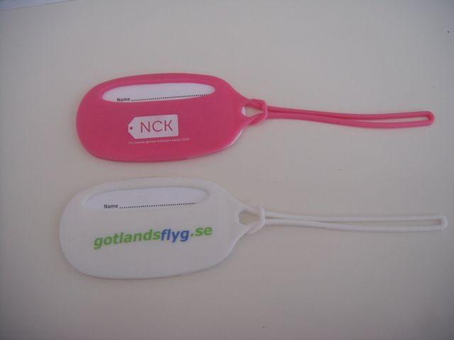 etiquetas silicona para maletas de viaje personalizadas.