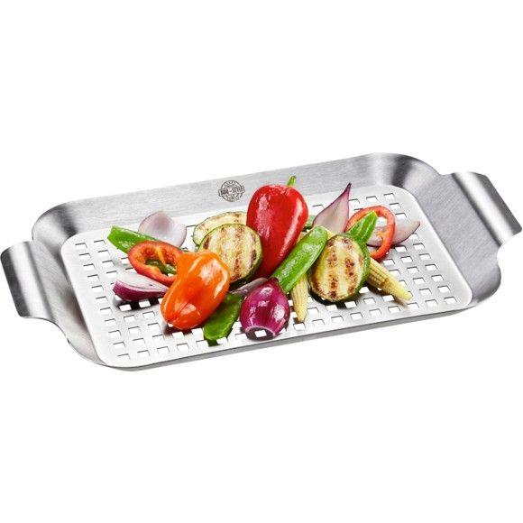 Auf der Grillpfanne bereiten Sie zartes Fleisch, knackiges Gemüse und perfekt gebratene Beilagen zu! Genießen Sie Ihr kulinarisches Grillfest!