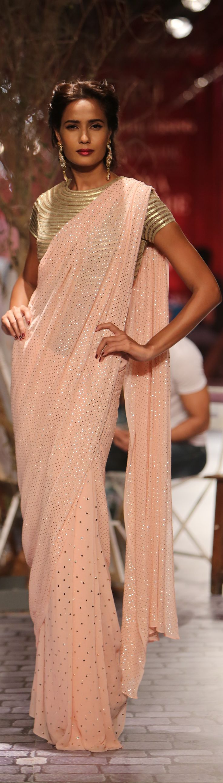 Monisha Jaising Collection at India Couture Week - original pin by @webjournal
