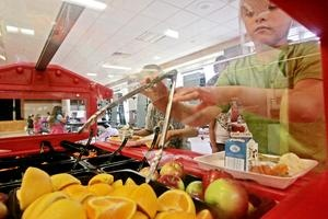 About half of the students in Taunton schools qualify for free or reduced lunches, according to Superintendent Julie Hackett.