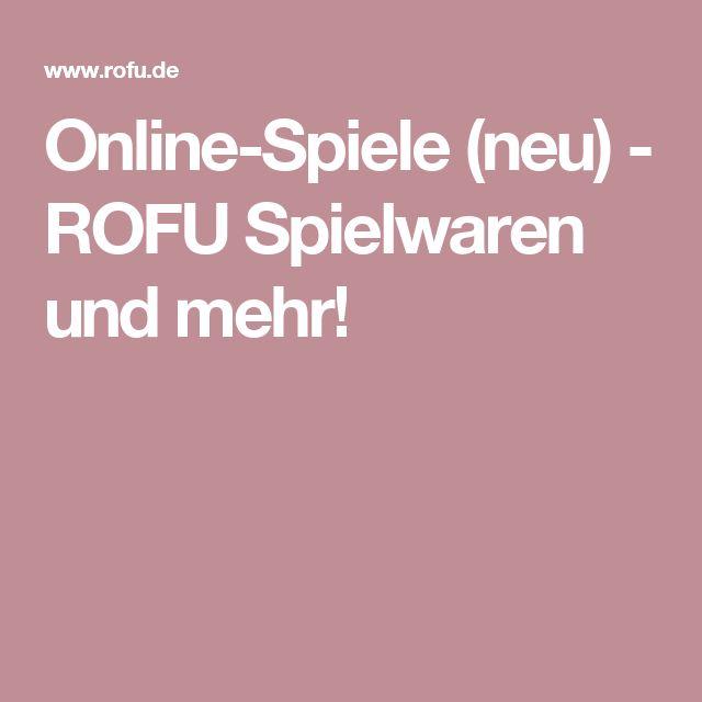 Online-Spiele (neu) - ROFU Spielwaren und mehr!