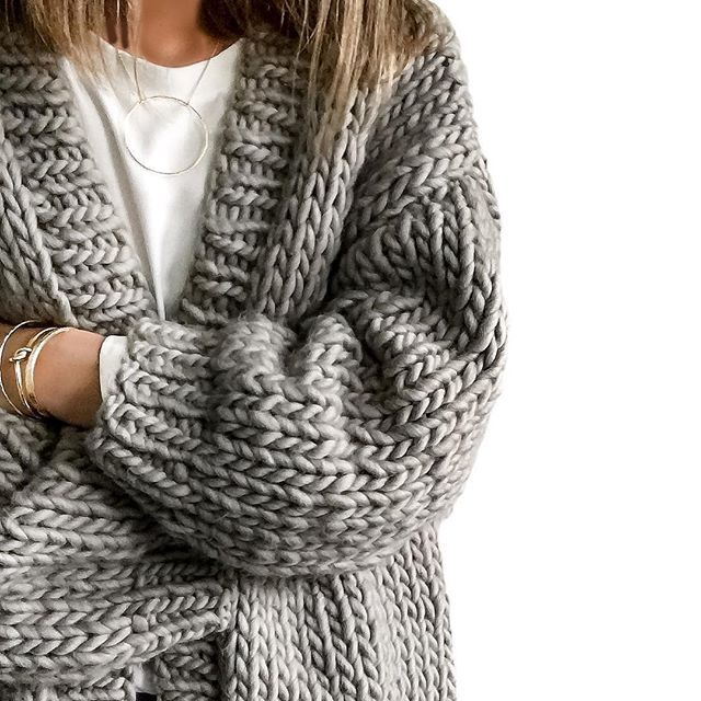 Chunky knits. // Follow @ShopStyle on Instagram to shop this look