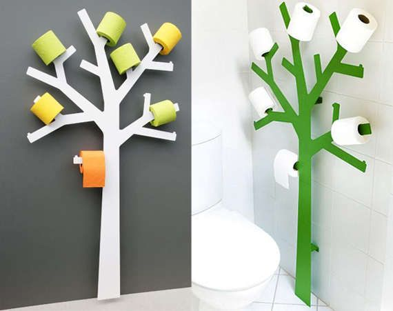 Toilet Paper Trees - The TP Tree Blooms in Your Bathroom