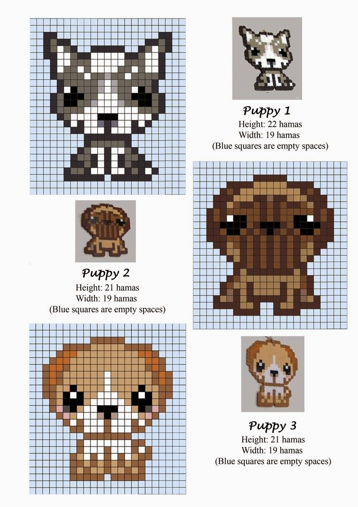 Hama Beads Pattern post by wememade