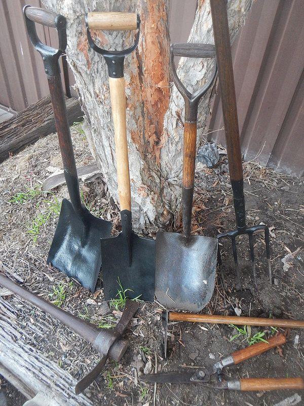 Restoring Old Garden Tools (After)