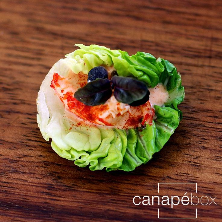 Healthy, pretty & delicious!   Gluten-Free-Canape-Catering-London-crayfish-cocktail