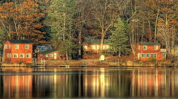 Waldheim Resort near Finlayson, Minnesota. It's on Big Pine Lake. We stayed there in 2010 and are going back in 2012.
