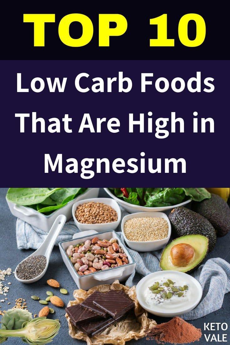 magnesium sources on keto diet