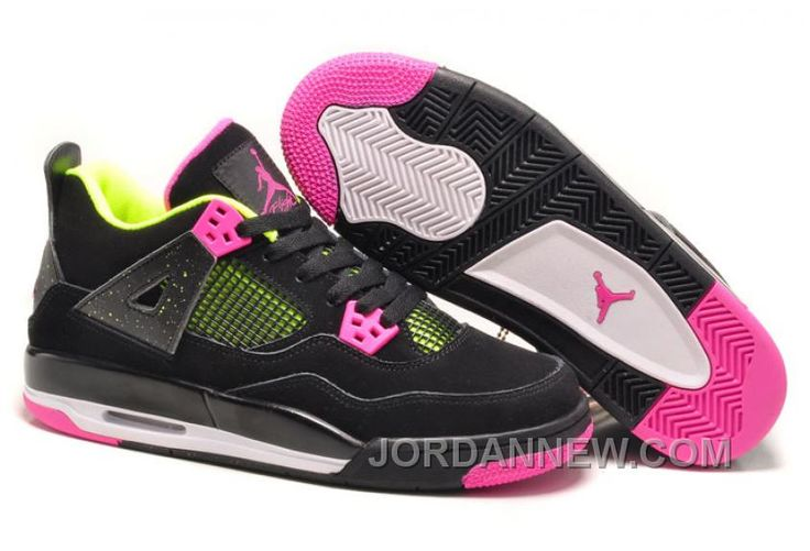 http://www.jordannew.com/2017-girls-air-jordan-4-black-suede-light-green-pink-for-sale-authentic.html 2017 GIRLS AIR JORDAN 4 BLACK SUEDE LIGHT GREEN PINK FOR SALE AUTHENTIC Only $89.00 , Free Shipping!