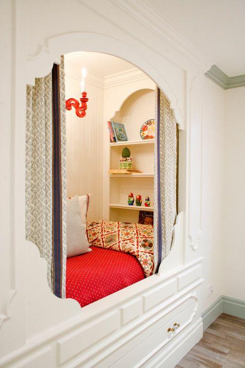 Love the bed nook. Designer Harman Wilde, Salt Lake City, UT. Britt Chudleigh photo.