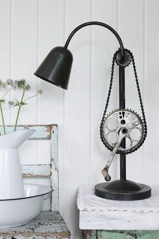 bike chain lamp - Google Search