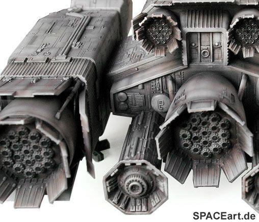Alien 1: Nostromo - Deluxe Modell, Modell-Bausatz, http://spaceart.de/produkte/al091.php