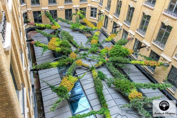 216 best images about toit vegetal green roof on for Jardin suspendu