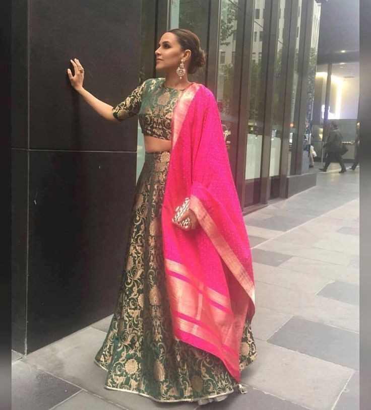 Totally digging Neha Dhupia in this @payalsinghal lehenga. Are you too?  #themallatoaktree #fashion #instadaily #instalike #style #ootd #instafashion #musthave #shopping  #bridesmaid #shopoline #indianfashion #indianwedding #celebritystyle #indianwear #asianfashion #desifashion #bridesmaid #igers #newyork #nyc #newyorkfashion #trunkshow #fashiondiaries #fashiongram #festive #couture #lookbook #payalsinghal #nehadhupia