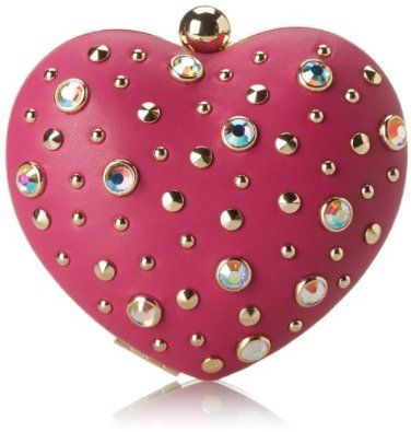 Amazon.com: Juicy Couture Juicy At Heart Minaudiere Evening Bag,Cashmere Rose,One Size: Shoes