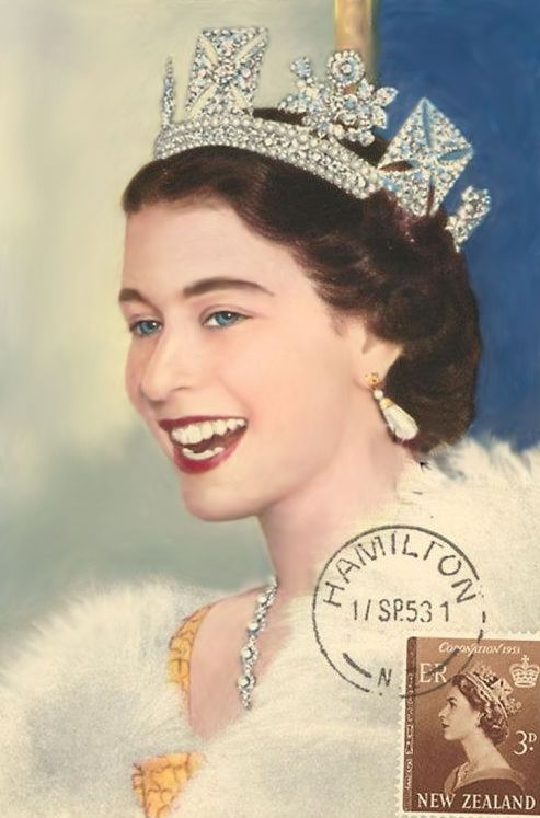 Queen Elizabeth, she was the only queen I recognized as a child.  I had coloring books about her.