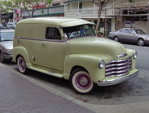 52 Chevy Panel Truck