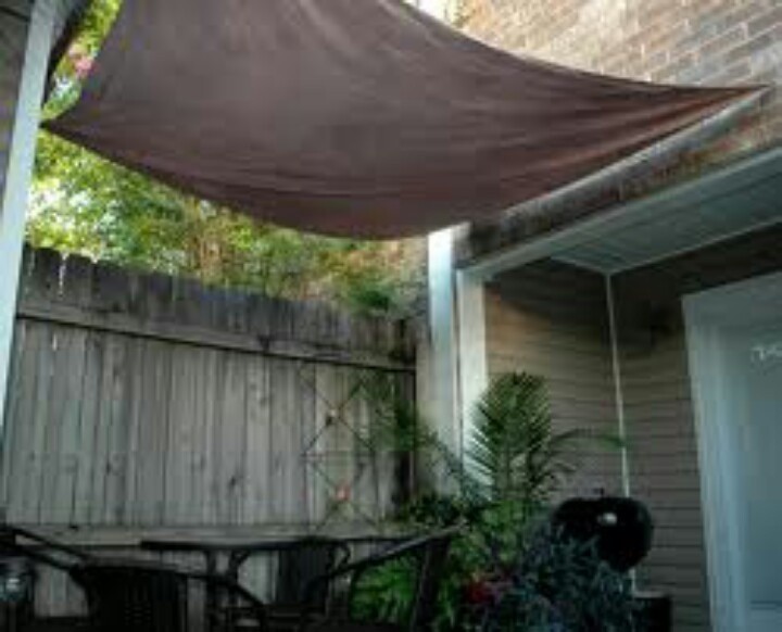 Canvas Drop Cloth From Home Depot And Rope For A Budget