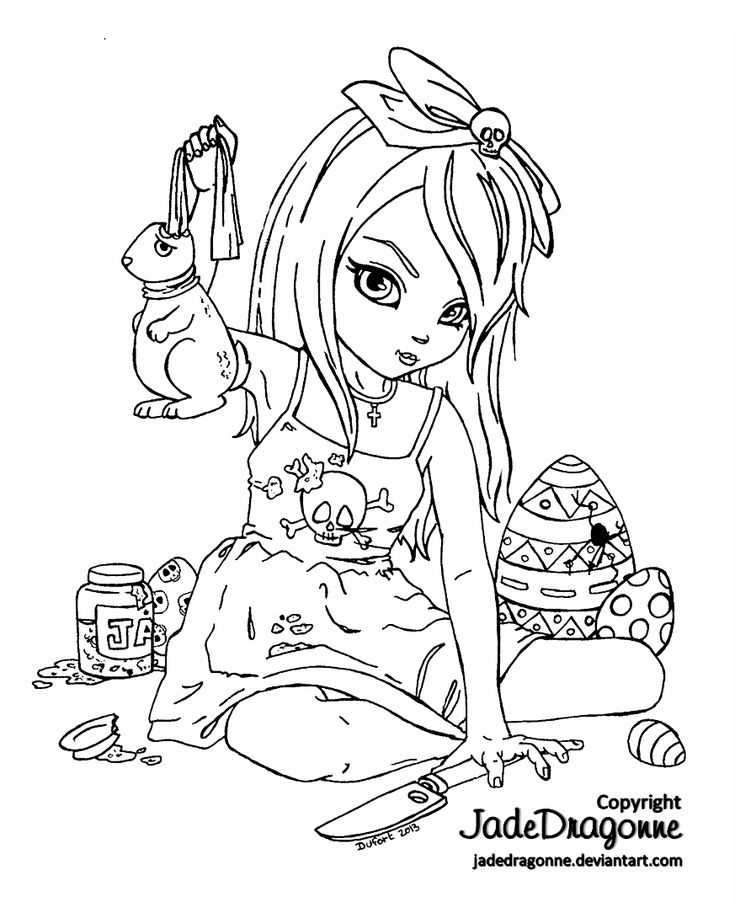 easter candy coloring pages - photo#48