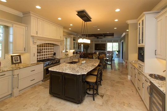 New Construction Kitchen With Island In Orlando Florida Design Remodeling Specialist Craig