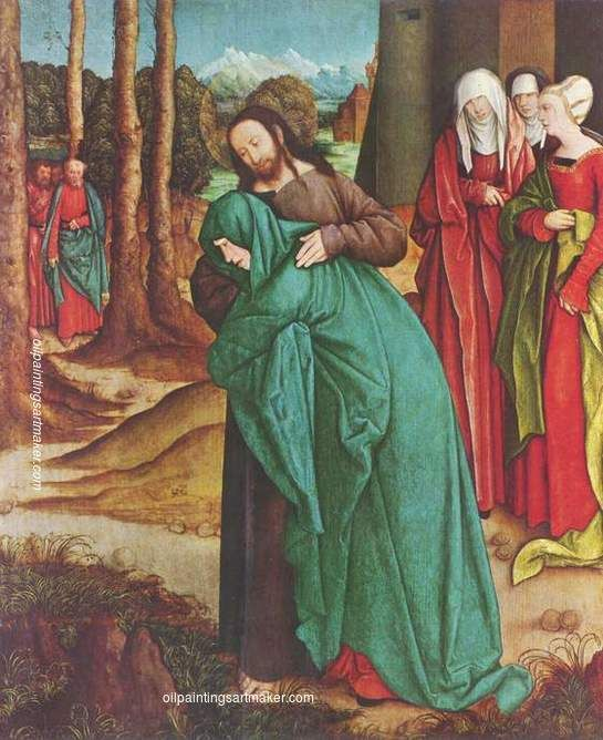 Bernhard Strigel Christ Taking Leave of His Mother, 1520 painting outlet for sale, painting Authorized official website