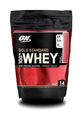 Optimum Nutrition Gold Standard 100% Whey Protein Powder,...