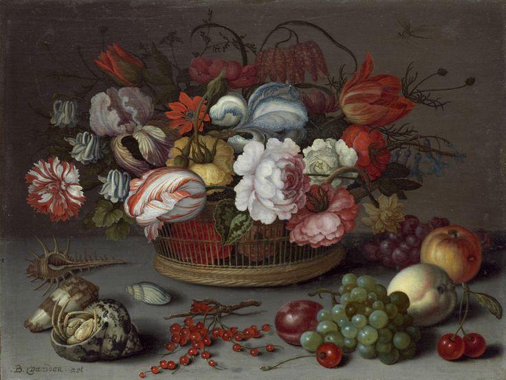 Balthasar van der Ast, Basket of Flowers, ca. 1622, National Gallery of Art, Washington, D.C.