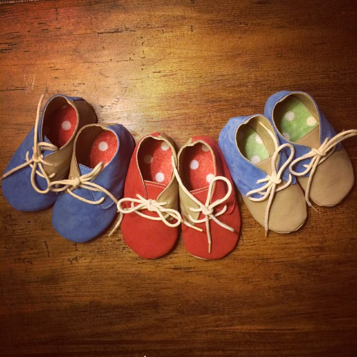 Soft sole lace ups, handmade by Pia Nowland