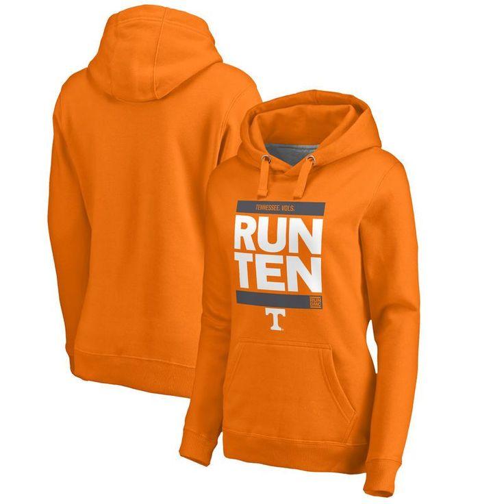 Tennessee Volunteers Fanatics Branded Women's RUN-CTY Pullover Hoodie - Tennessee Orange