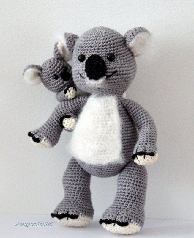 Koalas mama & baby