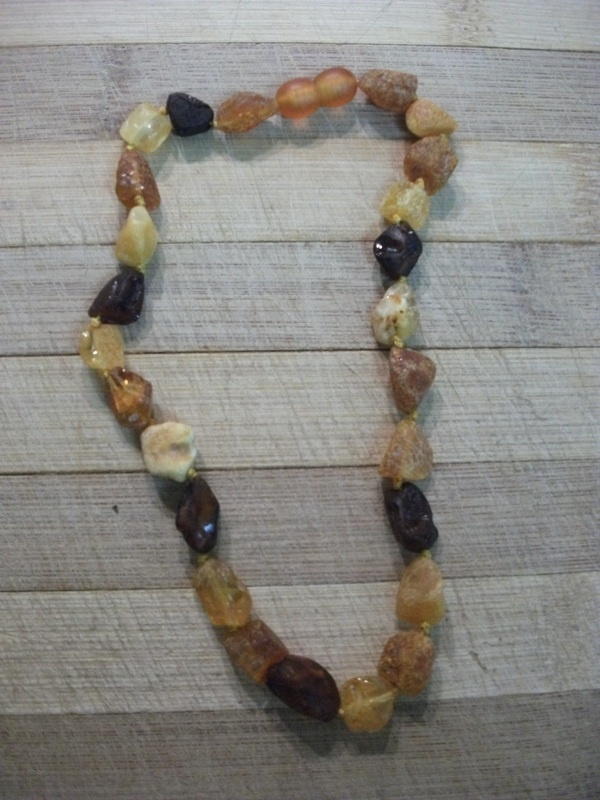 Raw Multi Amber Teething Jewelery for Mom and Baby - $20:: Yummy Mummy Emporium