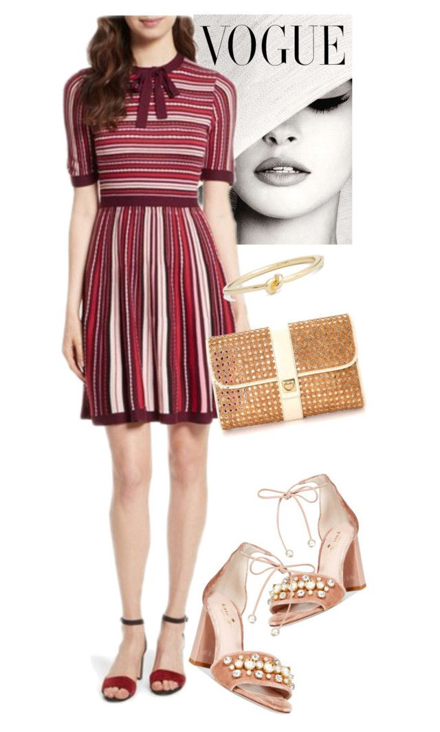 """dress"" by masayuki4499 ❤ liked on Polyvore featuring Kate Spade"