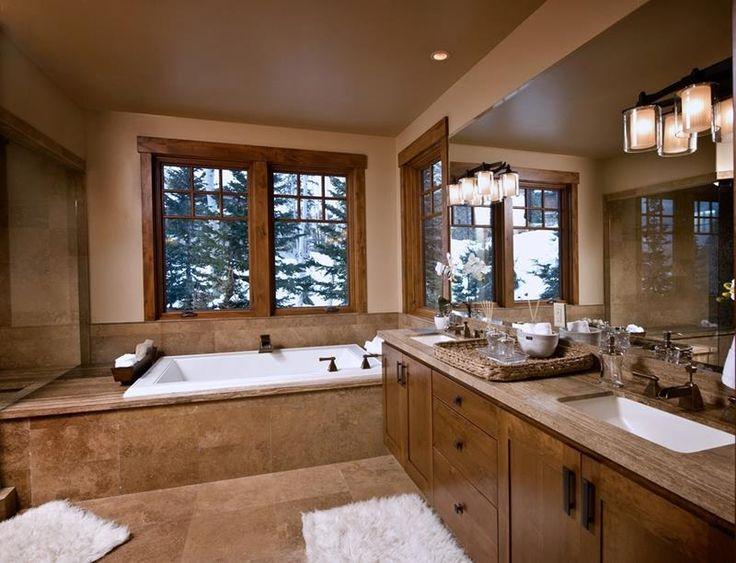 17 Best Ideas About Brown Bathroom On Pinterest
