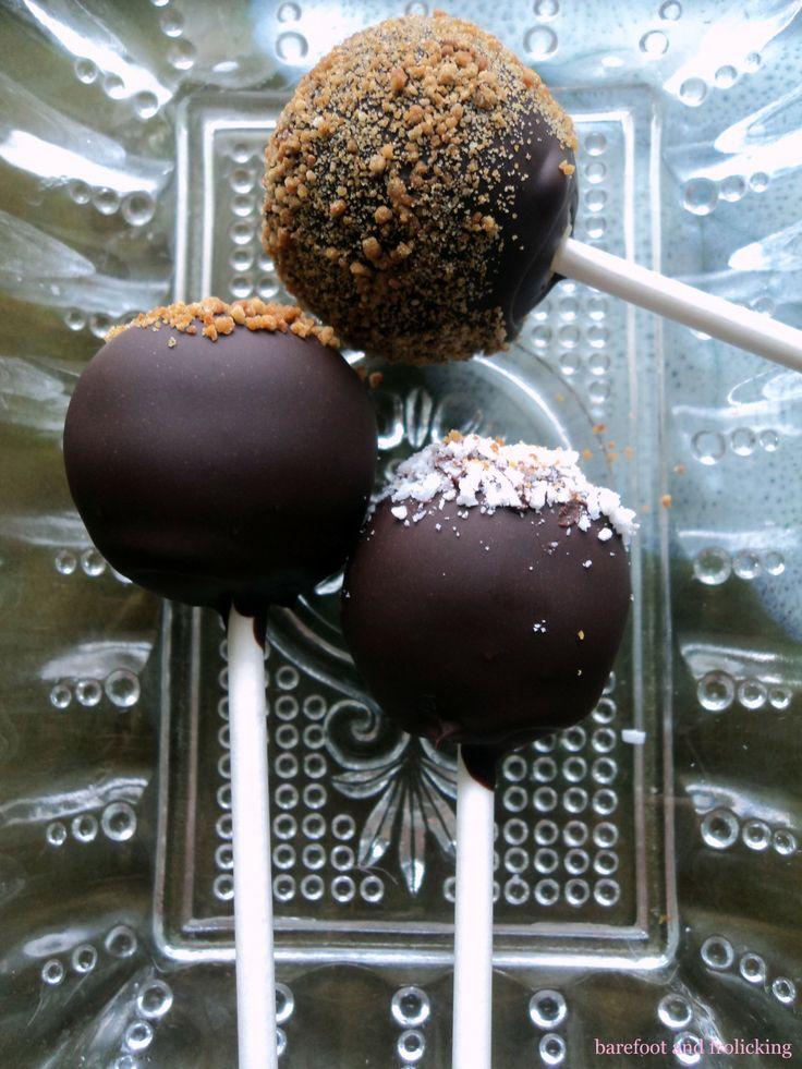 Herbal Cake Pops With Coconut Oil - Vanilla, Lavender, Coconut, Cacao