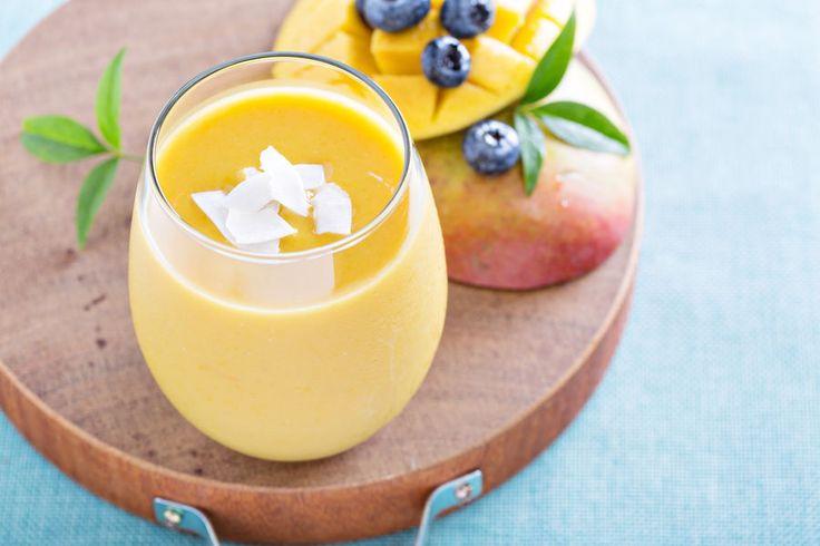 Śniadanie fit: wegańskie mango lassi