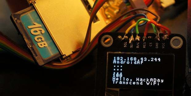 use of wifi sd cards